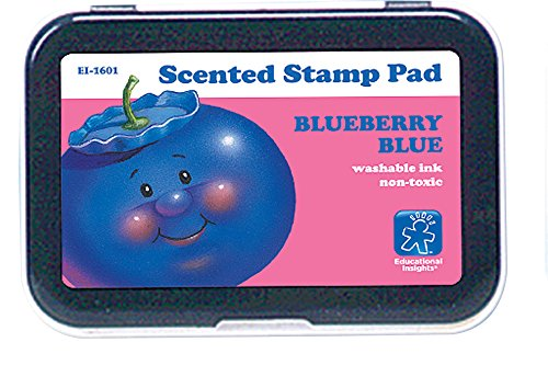 Educational Insights Blue/Blueberry Scent Stamp Pad
