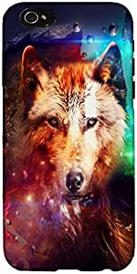 Snoogg Wolf Of Hearts Case Cover For Apple Iphone 6+