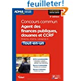 Concours commun, Agent des finances publiques, douanes et CCRF - Tout-en-un - Externe, interne - Catégorie C -...