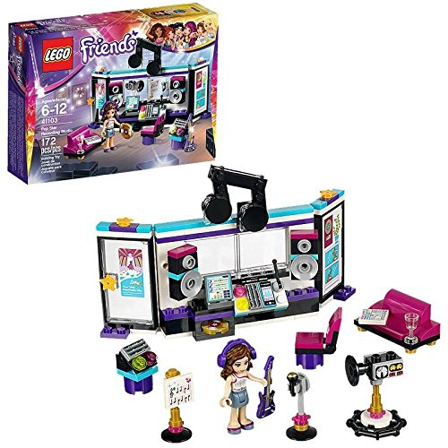 Get Lego Friends 41103 Pop Star Recording Studio Building Kit At