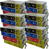 24 CiberDirect Compatible Ink Cartridges for use with Epson Stylus S22 Printers.