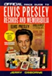 The Official Price Guide to Elvis Pre...