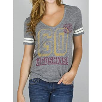 Washington Redskins - Tailgate Juniors Jersey T-Shirt by Junk Food