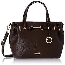 Cathy London Women's Handbag ( Brown,CATHY-140)