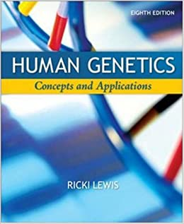 Human Genetics: 9780077221270: Medicine & Health Science