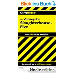 CliffsNotes on Vonnegut's Slaughterhouse-Five (Cliffsnotes Literature Guides)