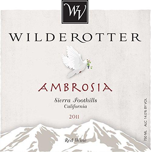 2011 Wilderotter Vineyard Ambrosia Sierra Foothills Red Blend 750 Ml