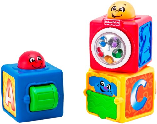 Fisher-Price Brilliant Basics Stacking Action Blocks