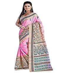 SB Creations Women's Turcky Silk Saree (SB_108_Multi)