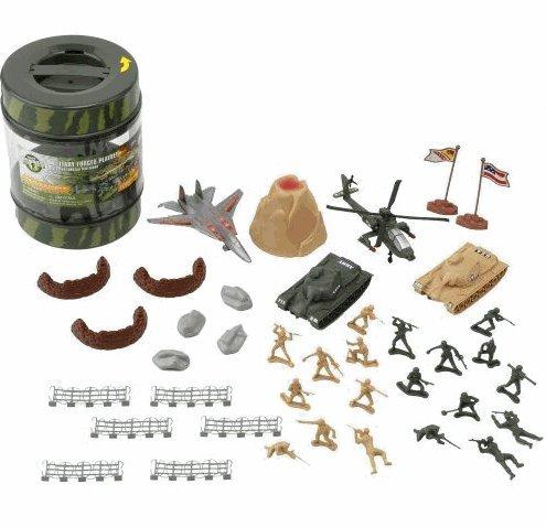 Buy Low Price Toysrus Army Playset in Bucket Figure (B002N7U0VM)