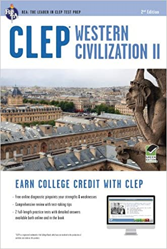 CLEP® Western Civilization II Book + Online (CLEP Test Preparation) written by Dr. Preston Jones Ph.D.