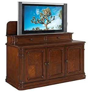 Tv Lift Cabinet For 40 60 Inch Flat Screens Two Tone At004310s Kitchen Home