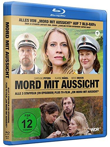 Mord mit Aussicht, Alle 3 Staffeln plus TV-Film EIN MORD MIT AUSSICHT (7BDs) [Blu-ray]