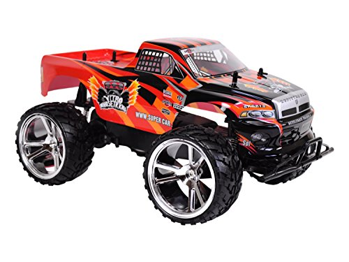 Amewi 22095 - Macchina radiocomandata Monster Truck Big M, 45 cm, Scala 1:10, Colori assortiti