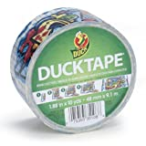Duck Brand 281497 Graffiti Printed Duct Tape, 1.88-Inch by 10 Yards, Single Roll