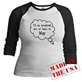 Breaking Out May Jr. raglan Jr. Raglan by CafePress