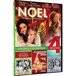 Noel/Xmas Without Snow/Meg's Story/Jo's Story - 4-pack