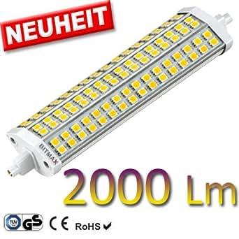 Bitmax r7s high power smd led fluter 2000 lumen for Lampada led r7s 2000 lumen