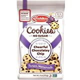 Sugar Free Cookies (3Pack/Bags) Sweetened With Monk Fruit Extract Non GMO Kosher Vegan Certified By Koochikoo (Chocolate Chip)