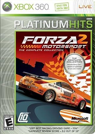 Microsoft-Forza Motorsports 2 Platinum Hits (Fr/Eng game-play)