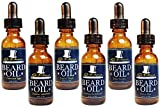 Premium Beard Oil and Conditioner for a Softer, Itch Free Beard - Variety Pack of 6 - 1 oz Bottles - Handmade with High Quality Carrier and Essential Oils that Offer Important Vitamins and Nutrients!