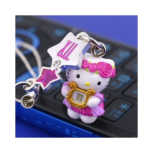 Sanrio Hello Kitty Astrologic Venus Star Charm Cell Phone Strap (Virgo)   Japanese Import Free Domestic Shipping for This Item