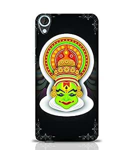 Stylebaby Kerala Traditional Painting Black HTC Desire 820 Phone Case