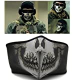 Bicycle Motorbike Bike Cycling Ski Navy Seal SWAT Skull Half Face Cover Mask