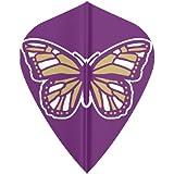 5 Sets 36705 AmeriThon Butterfly Prpl Gld Silv Metallic Dart Flights