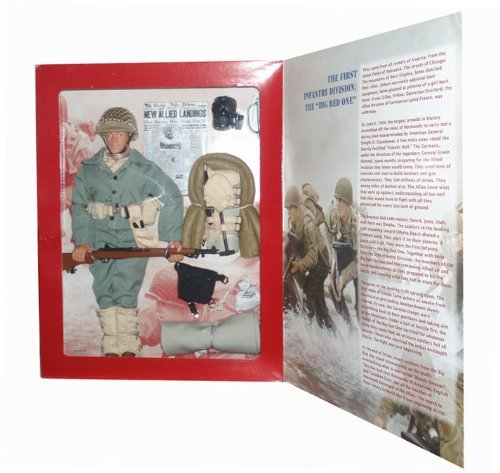 "Gi Joe D-Day Salute Big Red One 12"" Action Figure (Caucasian Version)"