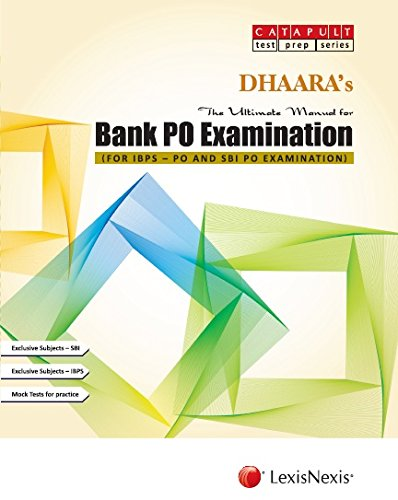 The Ultimate Manual for Bank Po Examination (For IBPS - PO and SBI PO Examination)