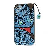 パズル&ドラゴンズ キングメタルドラゴンiPhone5ケース(シリコン)