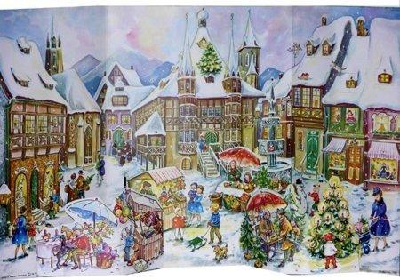 traditional german advent calendars