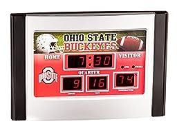Ohio State Buckeyes Football Logo Scoreboard Alarm Clock by Evergreen Enterprises