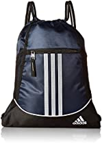 adidas Alliance II Sackpack, 18 x 13 3/4-Inch, Collegiate Navy