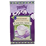 Dorothy's Huckleberry White Chocolate Cocoa Mix - 8 oz. and 16 oz. package size available. (8 oz. Package Size)