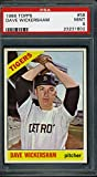 1966 TOPPS #58 DAVE WICKERSHAM PSA 9 TIGERS *18368