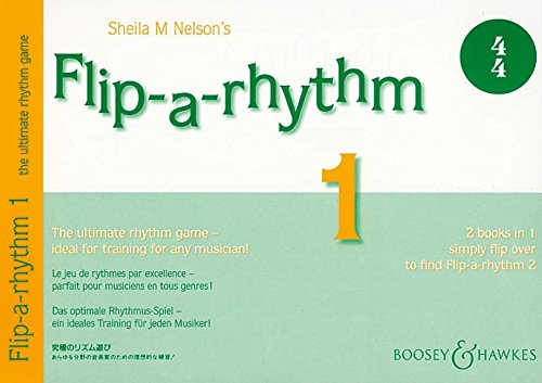 Flip-a-rhythm: Das optimale Rhythmus-Spiel - ein ideales Training für jeden Musiker!. Vol. 1+2.