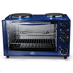 Countertop Oven Stove Combo : ... Combo- Rotisserie/Oven/Dual Stove Top Burners: Electric Countertop