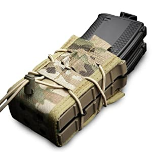 HSGI X2R TACO DOUBLE Rifle Magazine Pouch in color Crye Multicam