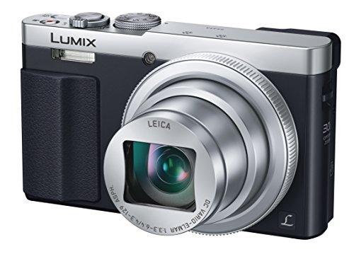 Panasonic DMC-TZ70 (Silver) LUMIX 30x Travel Zoom Digital Camera with Eye Viewfinder WiFi NFC - International Version (No Warranty)