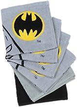 Batman Logo 6-pack Washcloth Set