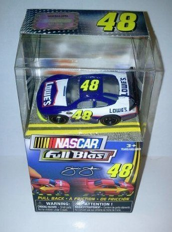 NASCAR Full Blast Pull Back Car #48 Jimmie Johnson