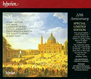 Vivaldi:Sacred Music Vol 1