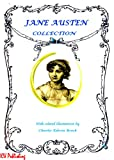 Jane Austen Collection (Illustrated with Free audiobook links)