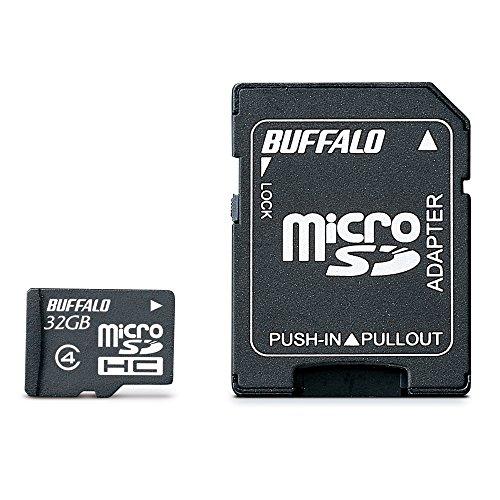 BUFFALO Class4 microSDカード 32GB RMSD-32GC4SA/E [フラストレーションフリーパッケージ (FFP)]