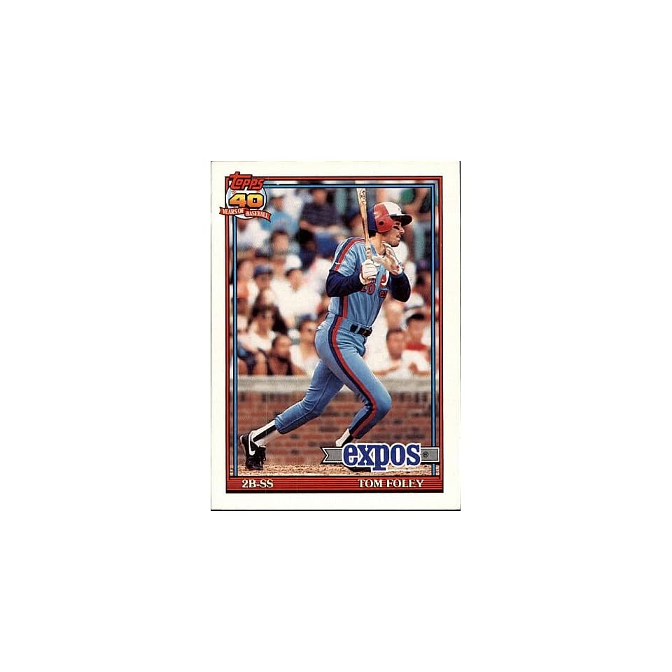 1994 Topps Tom Foley # 773