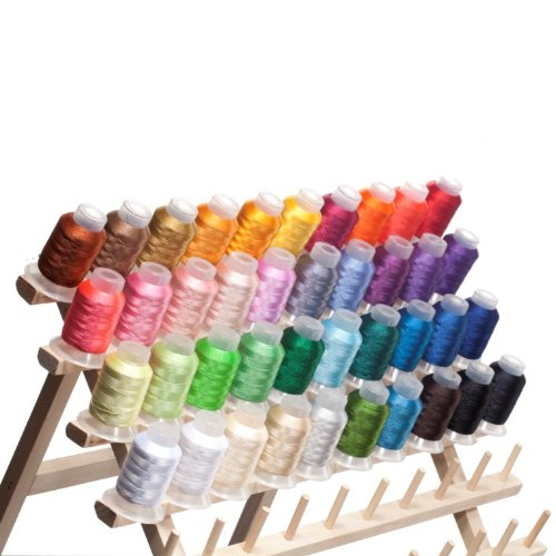 40 Spools Polyester Embroidery Machine Thread Review And