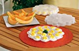 Deviled Egg Serving Tray Carriers - Set Of 2