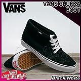VANS(バンズ) チャッカブーツ CHUKKA BOOT Black/White/メンズ(men's) 靴 スニーカー(VN-0EGTY28)